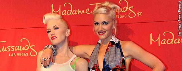 Gwen Stefani y su estatua de cera de 300 mil dólares