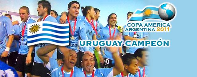 Uruguay es el flamante Rey de América