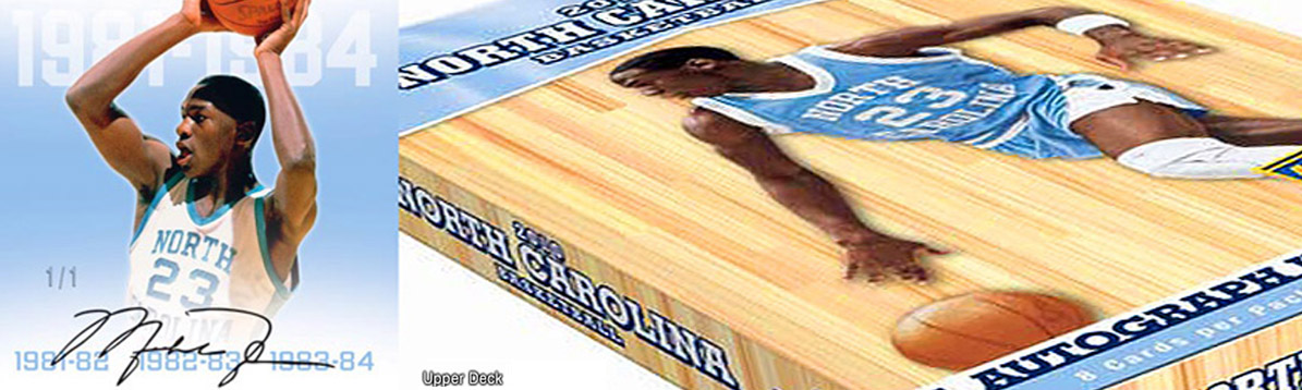 Upper Deck, Michael Jordan y North Carolina