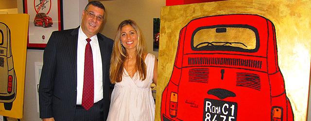 El arte y el estilo italiano en Planet Fiat