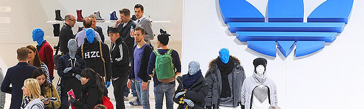Los originales diseños de Adidas en Berlín