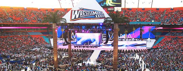 WrestleMania XXVIII y WWE Raw en Miami