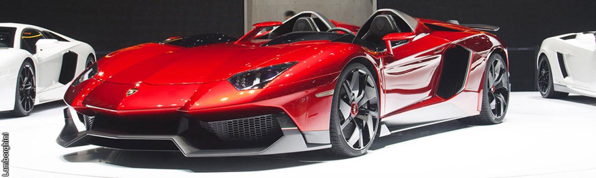 Lamborghini presenta su más lujoso automóvil descapotable: Aventador J