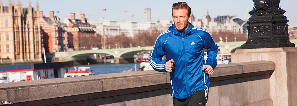 Derrick Rose, Katy Perry y David Beckham corren por el mundo con Adidas