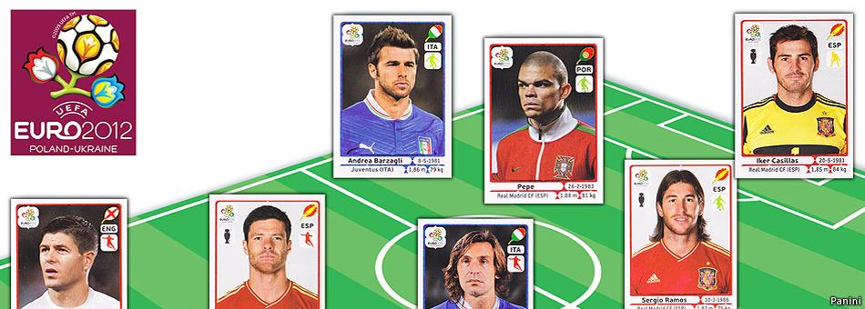 La selección ideal de la Eurocopa 2012