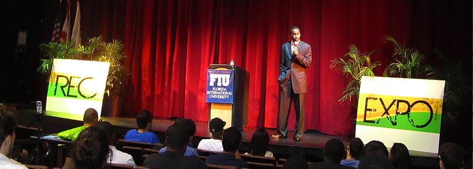 Stephen A. Smith de ESPN brindó una conferencia en Biscayne Bay Campus de FIU