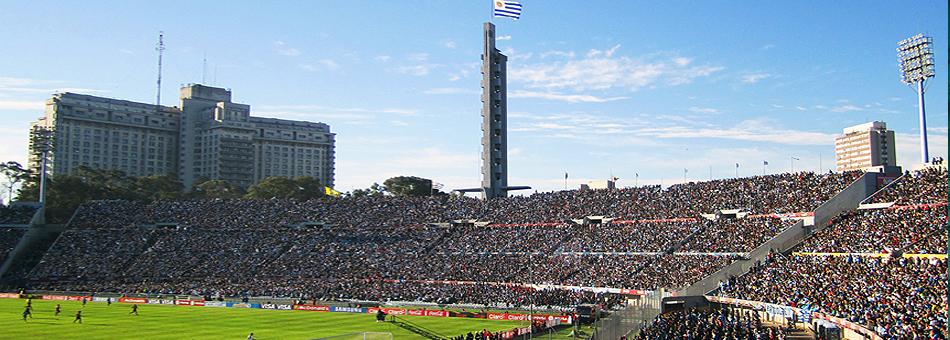 Los primeros partidos de Maradona en el Estadio Centenario