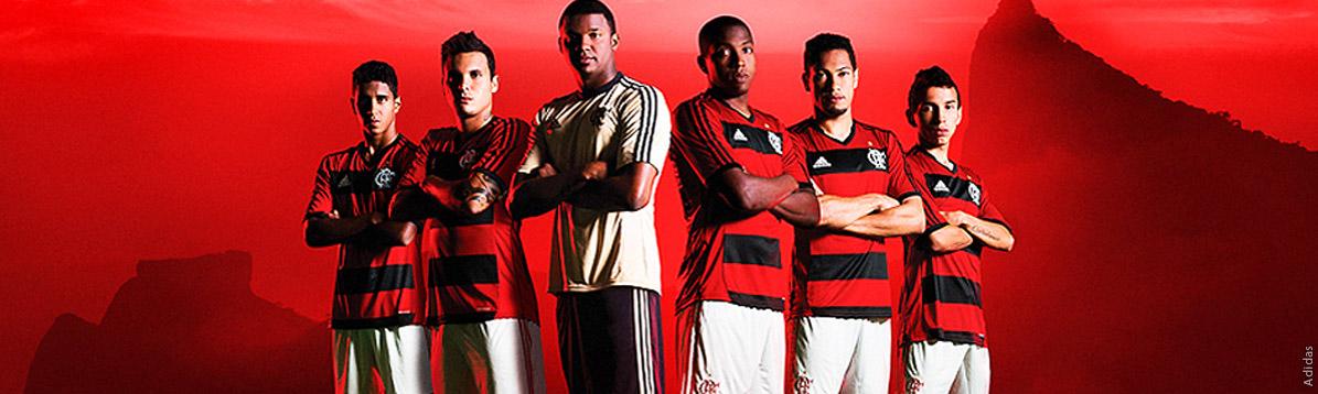 Adidas presentó los nuevos uniformes de Flamengo en Rio de Janeiro