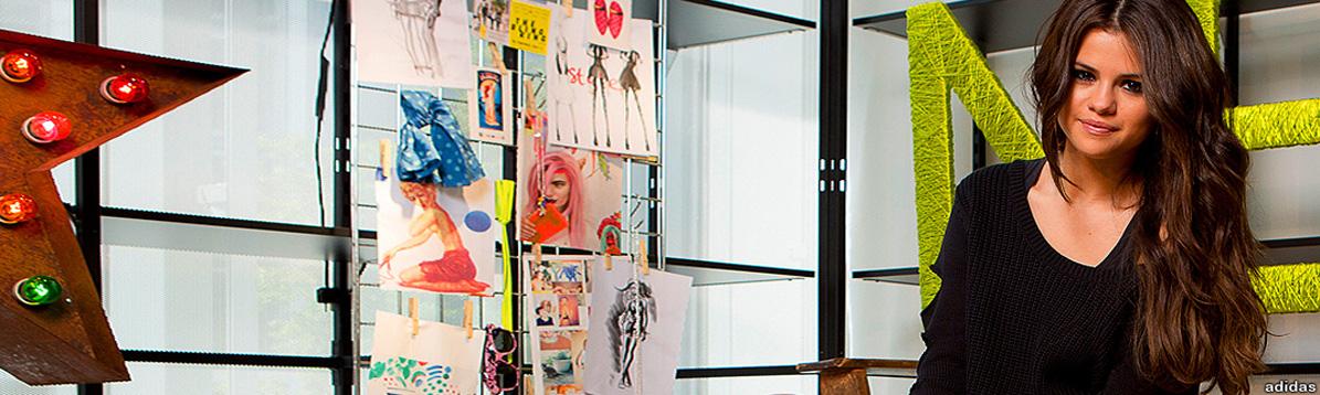 Selena Gomez presentó su colección de ropa Adidas NEO en Alemania
