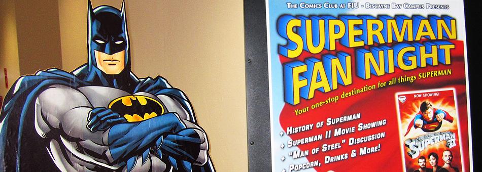 Comics Club de FIU celebró su primer evento: Superman Fan Night