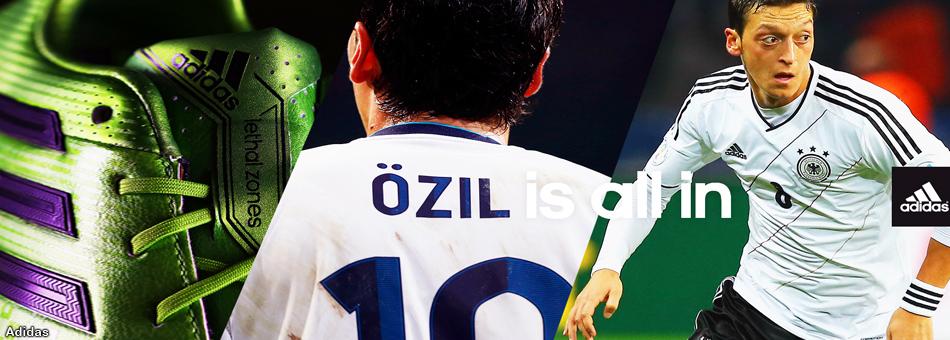 El futbolista Mesut Özil se convierte en deportista exclusivo de Adidas