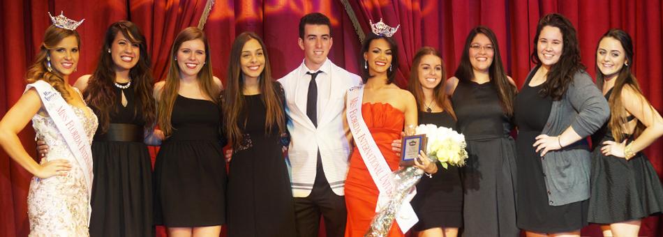 Andrea Mirabal fue elegida Miss FIU 2014 en Biscayne Bay Campus