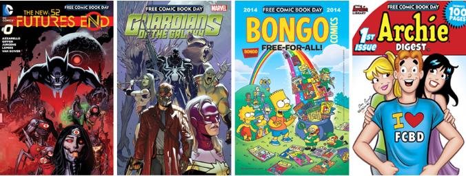 El primer sábado de mayo es el Día de los Cómics Gratuitos