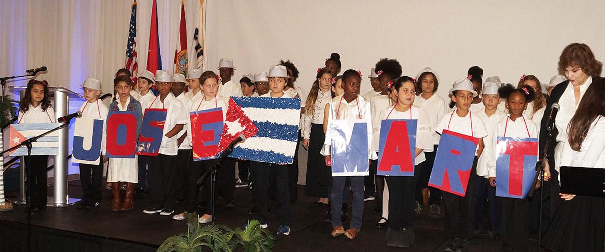 FIU realiza su tradicional homenaje al héroe cubano José Martí
