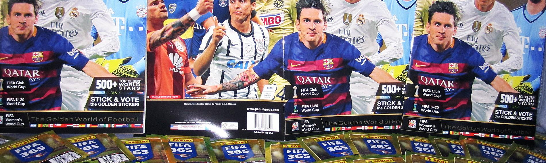 El álbum Panini FIFA 365 destaca a los mejores equipos del mundo