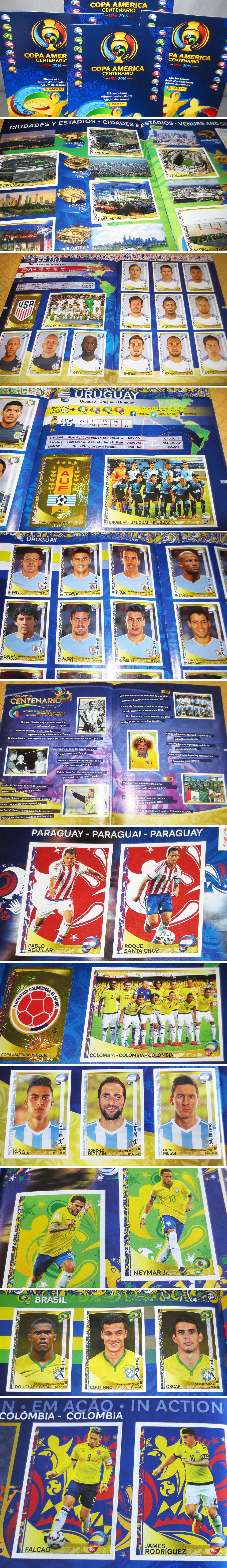 Album Copa America_2016