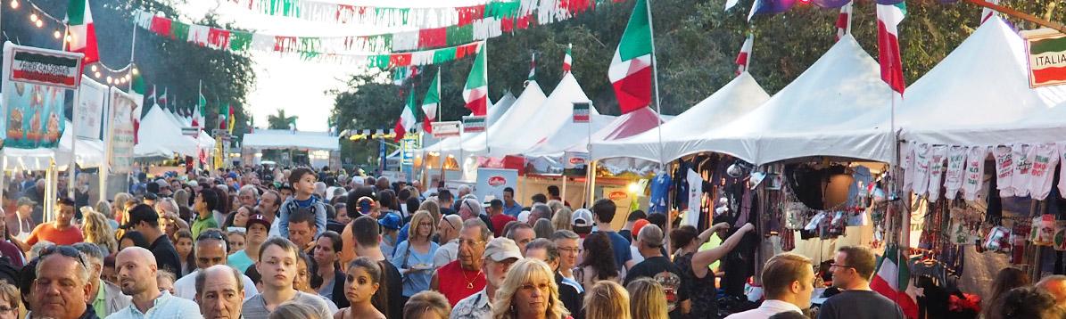 Festival de la pequeña Italia en Júpiter