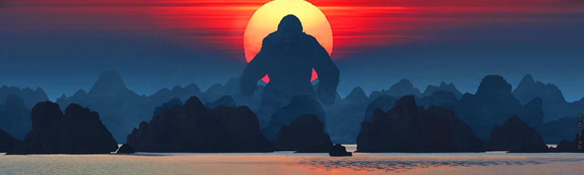 King Kong regresa al cine en la Isla Calavera