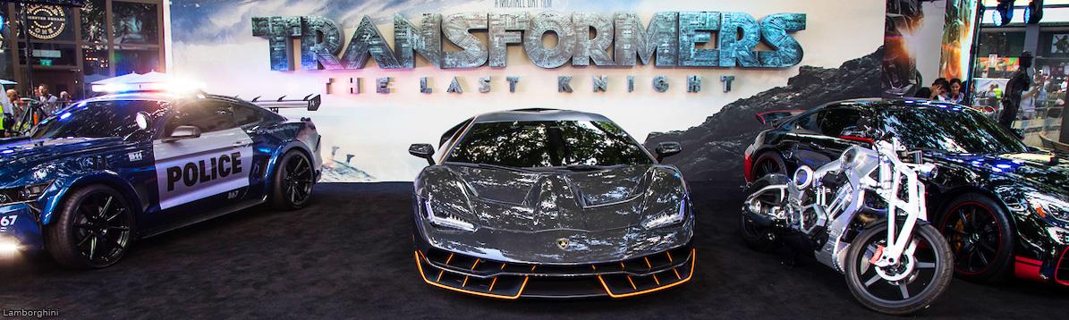 """Lamborghini Centenario se luce en el estreno de """"Transformers: The Last Knight"""""""