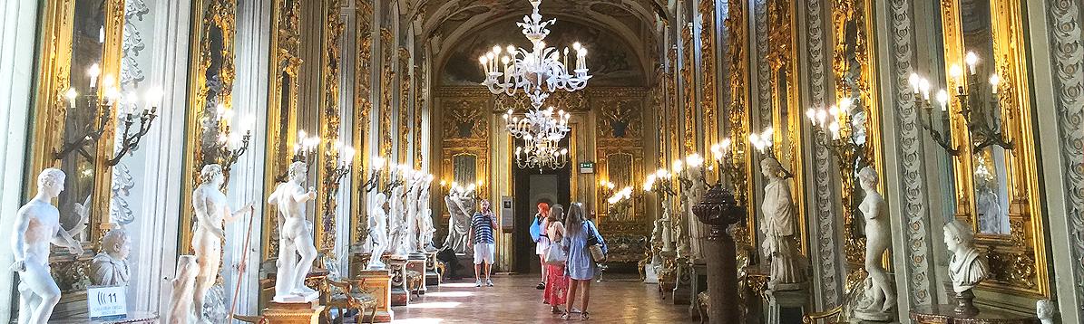 El magnífico Palacio Doria-Pamphilj en Roma