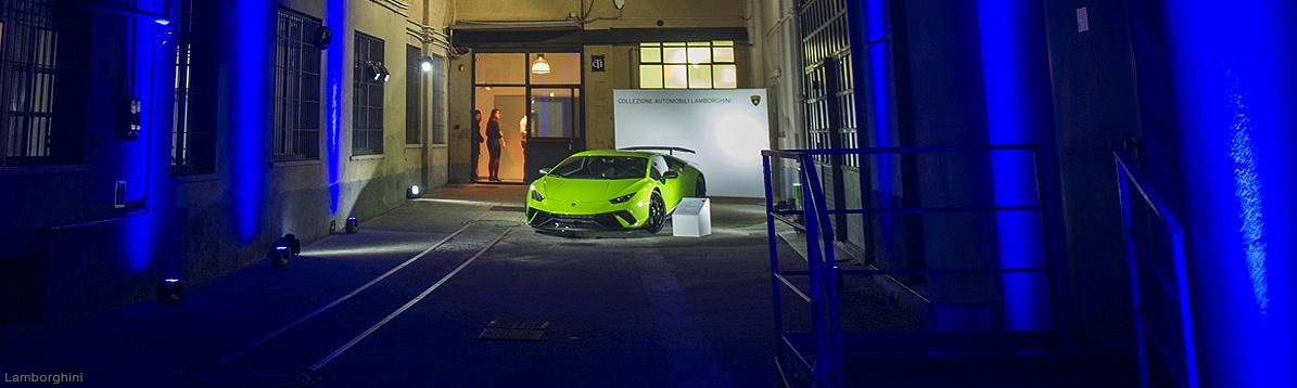 Lamborghini deslumbra en la Semana de la Moda de Milán