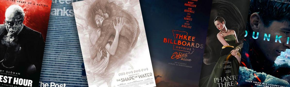 Las nueve películas nominadas al Óscar 2018
