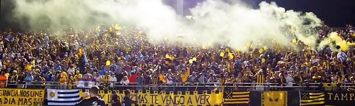 El Club Atlético Peñarol de pretemporada en Miami