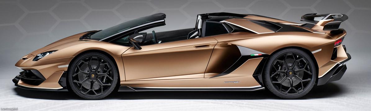 Lamborghini presenta el Aventador convertible SVJ en Ginebra