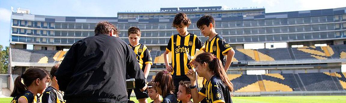 Peñarol trae su campus de entrenamiento para niños a Estados Unidos