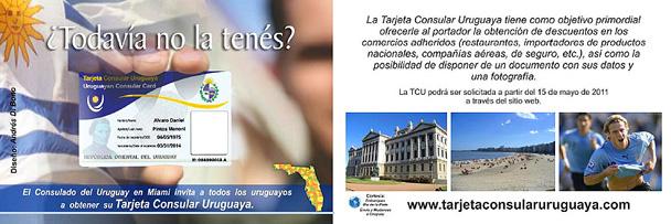 Consulado Uruguayo en Miami crea la Tarjeta Consular