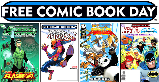 El día de los cómics gratuitos en Estados Unidos