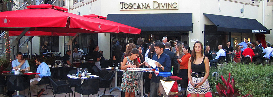 L'Aperitivo en Toscana Divino de Miami