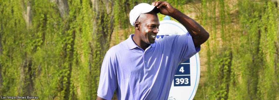 Michael Jordan y sus famosos amigos jugaron al golf en Las Vegas