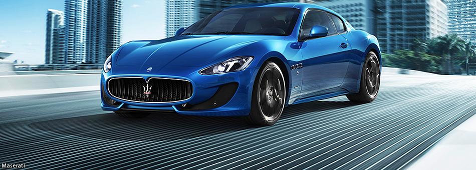 Maserati presentó su modelo GranTurismo Sport en las calles de Miami