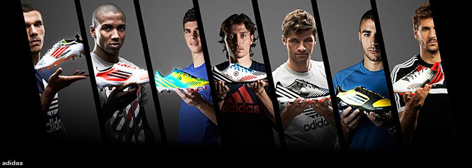 Los mejores futbolistas de las ligas más importantes prefieren Adidas