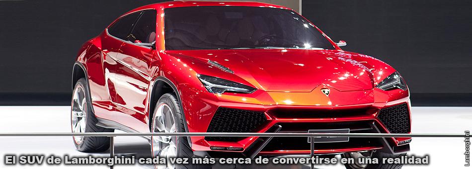El SUV de Lamborghini cada vez más cerca de convertirse en una realidad