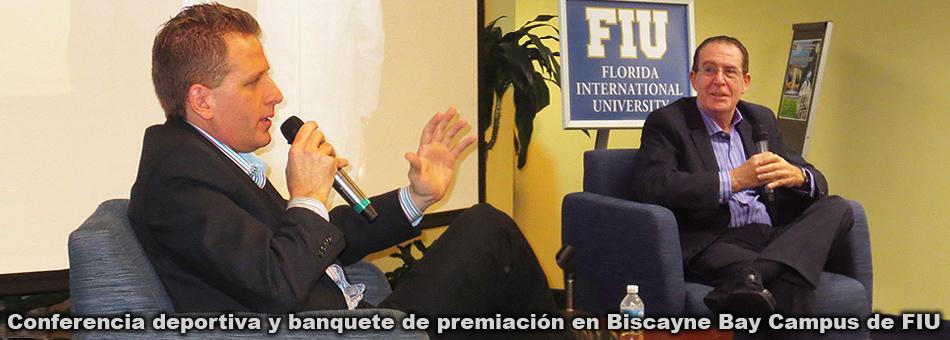 Conferencia deportiva y banquete de premiación en Biscayne Bay Campus de FIU