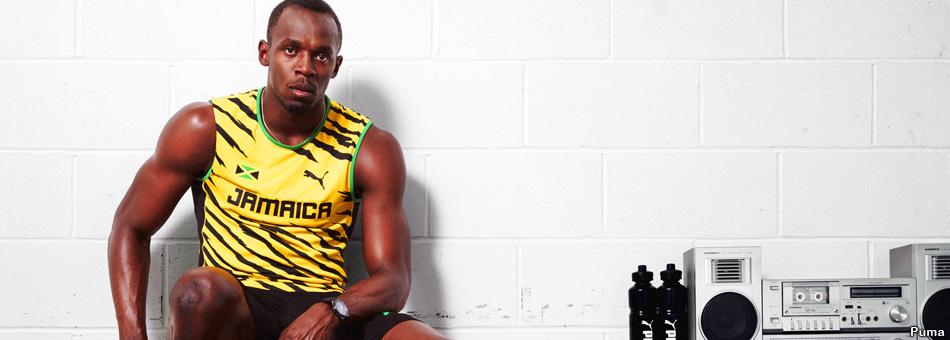 El velocista Usain Bolt celebra sus 27 años con 3 medallas de oro en Moscú