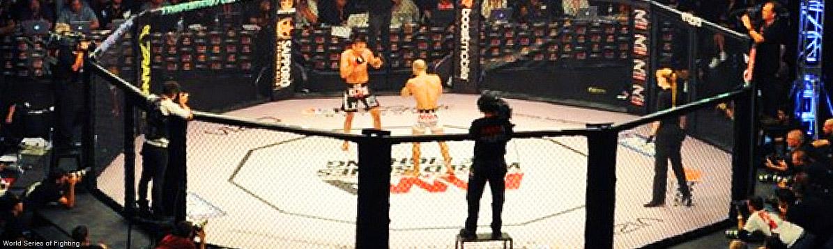 Las artes marciales mixtas de World Series of Fighting llegan a Coral Gables