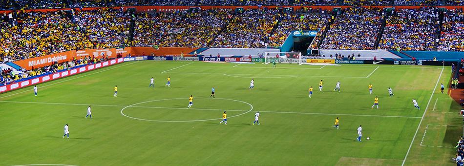 Neymar y las estrellas de la Selección Brasileña pasearon su fútbol por Miami