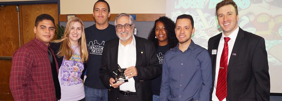 El legendario artista José Delbo homenajeado en Florida International University