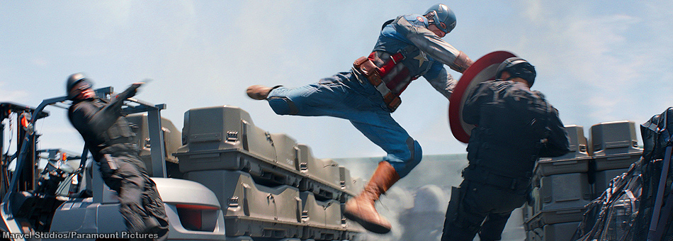 El Capitán América vuelve a la pantalla grande para enfrentar al Winter Soldier