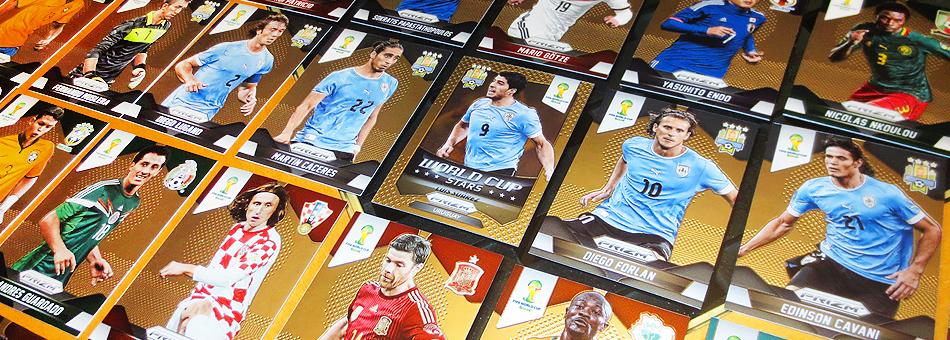 2014 Panini Prizm FIFA World Cup es sensación entre los coleccionistas