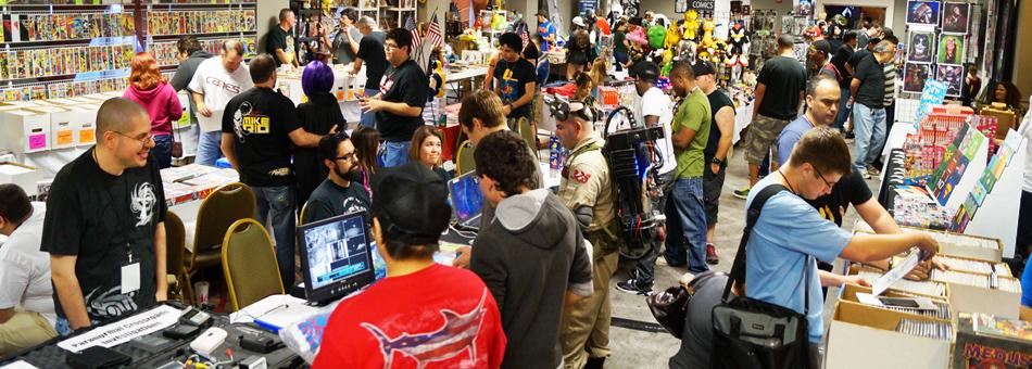 La convención UltraCon fue un éxito de público en Fort Lauderdale
