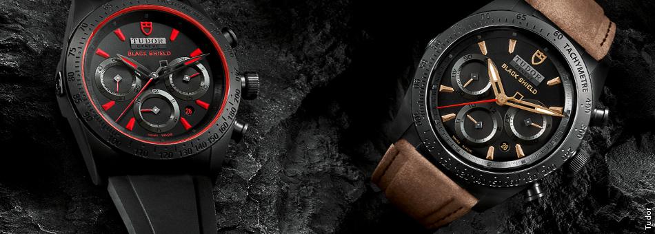 Los extraordinarios relojes Tudor Fastrider Black Shield
