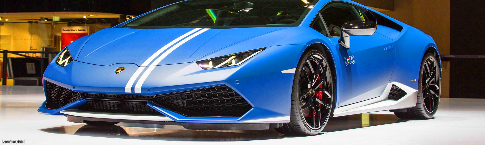 Lamborghini presentó última versión del Huracán y nuevo presidente