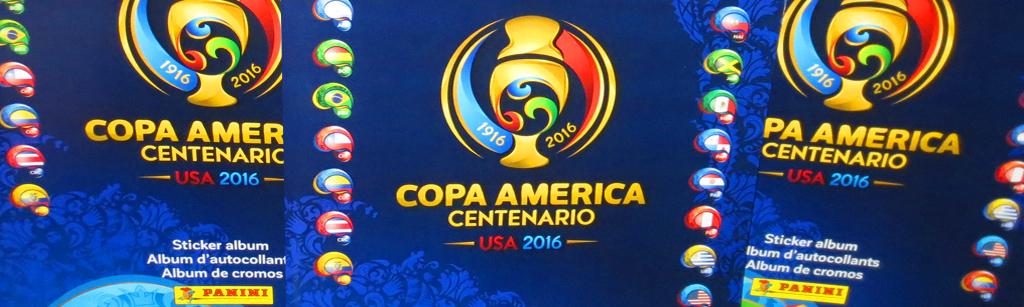 Panini lanza el álbum oficial de la Copa América Centenario