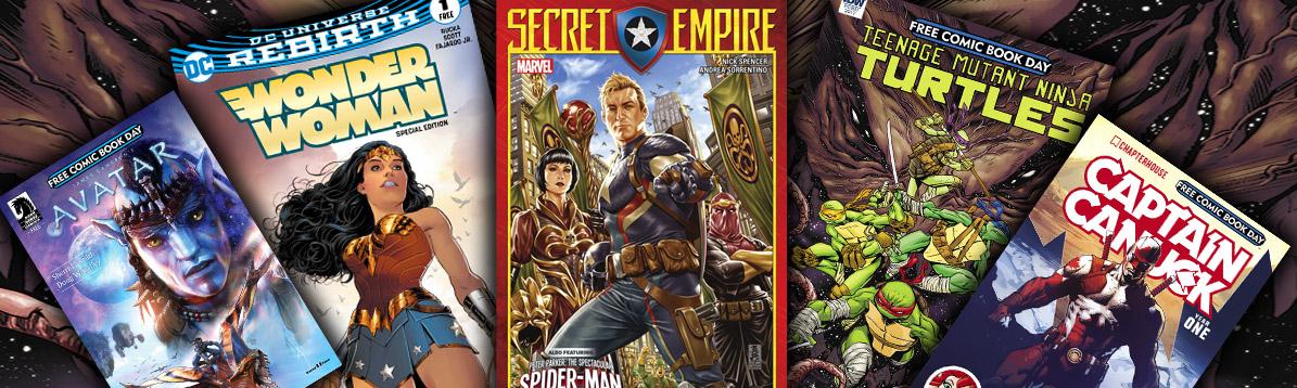 Se acerca el día de los cómics gratuitos