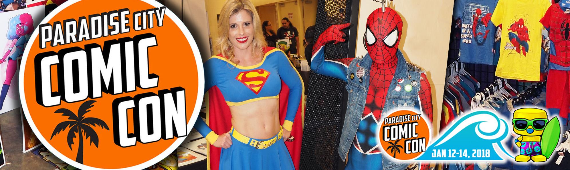 Paradise City Comic-Con regresa a Miami