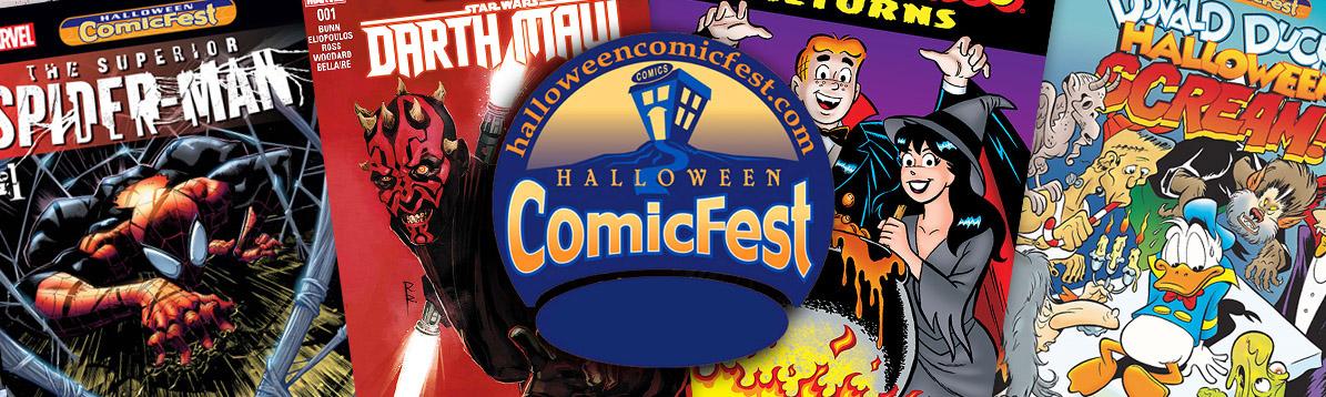 Halloween ComicFest con los cómics gratuitos para los fans